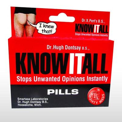 know it all pills